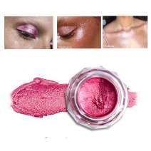 GL-Turelifes Glitter Cream Eyeshadow Metallic Shimmer Liquid Eyeshadow Jelly Gel Highlights Powder Face Body Bronzers & Highlighters (#08)