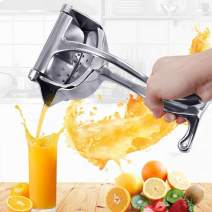 Premium Stainless Steel Manual Juicer,Portable Manual Citrus Press Juicer,Easy Use Heavy Duty Lemon Orange Juicer,Home Restaurant Fruit Juice Squeeze,Fruit Juicer Citrus Extractor Tool