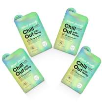 Body Drench Mask Society Chill Out Face Sheet Mask with Hemp Oil x 4 packs