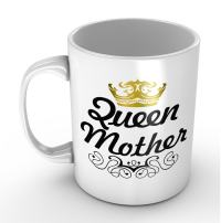 Queen Mother Gift/Mug for Mom Mother's Day - Funny White Mug 11oz Coffee Mugs or Tea Cup Cool Birthday/christmas Gifts for Men,women,him,boys and Girls