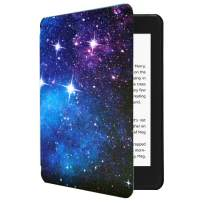 CoBak Kindle Paperwhite Case - All New PU Leather Smart Cover with Auto Sleep Wake Feature for Kindle Paperwhite 10th Generation 2018 Released, Space