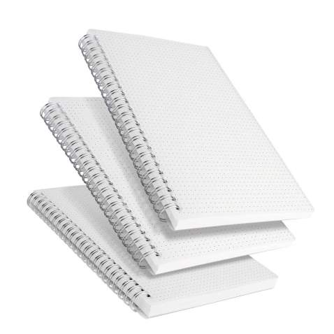 Dotted Bullet Journal A5 Softcover Leather 256 Pages Thick Paper 5.7 Inch x 8.5 Inch Pocket Dot Notebook