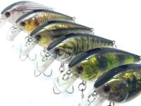 wLure Minnow Crankbait for Bass Fishing Bass Lure Jerkbait Fishing Lure