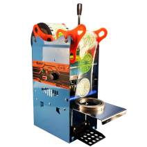 Manual Cup Sealing Machine 300-500 Cups/Hour Electric Cup Sealer for 180mm Tall &95mm Diameter Cup (220V)