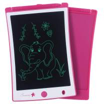 Sunany LCD Writing Tablet 8.5-Inch Toddler Doodle Board Drawing Pad, Electronic Drawing Tablet with Lock Function, Educational and Learning Toys for Kids at Home and School (Pink)