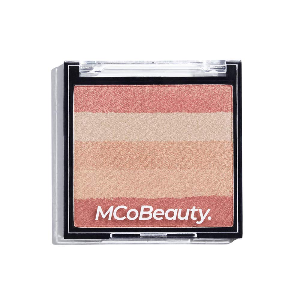 MCoBeauty Shimmer Brick Compact Highlight and Contour Powder | Blush