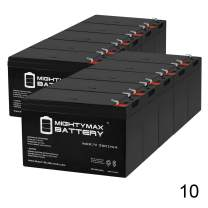 Mighty Max Battery ML7-12 - 12 Volt 7.2 AH SLA Battery (10 Pack)
