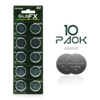 CR2025 Battery – Lithium Button Coin Cell Batteries - 3V 3 Volt - Remote Watch Jewelry Led Key Fob Replacement 2025 CR Pack Set Bulk (10 Pack)