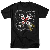 KISS Rock & Roll Over Gene Simmons Rock Band T Shirt & Stickers