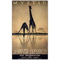 Mystic South Africa by Gayle Ullman, 14x24-Inch Canvas Wall Art