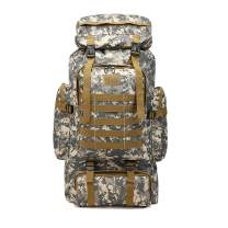 ÖSSZEFUT Military Tactical Backpack 70L/80L Large Camping Hiking Backpack Rucksack Waterproof Traveling Daypack