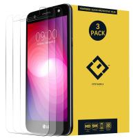 X Power 2 Screen Protector, (3 Pack) Ultra-Thin Clear Tempered Glass Protective Film Compatible with LG X Charge US601 X500 / M327 M322 L64VL L63BL M320N M320 X320 SP320(Note: not fit X Power LS755)