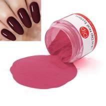 Red Dipping Powder (Added Vitamins) I.B.N Nail Dip Acrylic Powder, 1 Ounce (DIP 031)