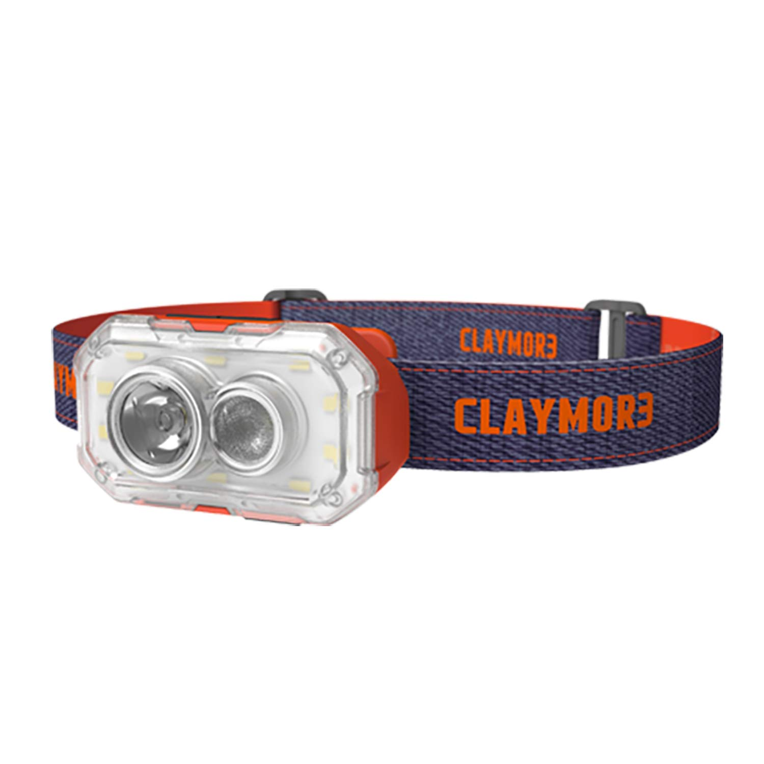 Claymore Heady+ Headlamp and Lantern, 600 Lumens, 3,5000mAh, USB Rechargeable, 4 Lighting Modes, 3 Colors, Portable LED Flashlight for Camping Running Hiking and More [Red]