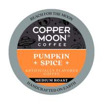 Copper Moon Pumpkin Spice, Medium Roast Coffee Pods Compatible with Keurig K-Cup Brewers, 12 Ct.