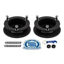 """Supreme Suspensions - 2.5"""" Front Leveling Kit for 1994-2013 Dodge Ram 2500 3500 and 1994-2001 Dodge Ram 1500 High-Strength Steel Spring Spacers Lift Kit 4WD"""