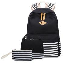SEEU School Bag Backpack for Girls Boys, Lightweight Travel Backpack 3 Set