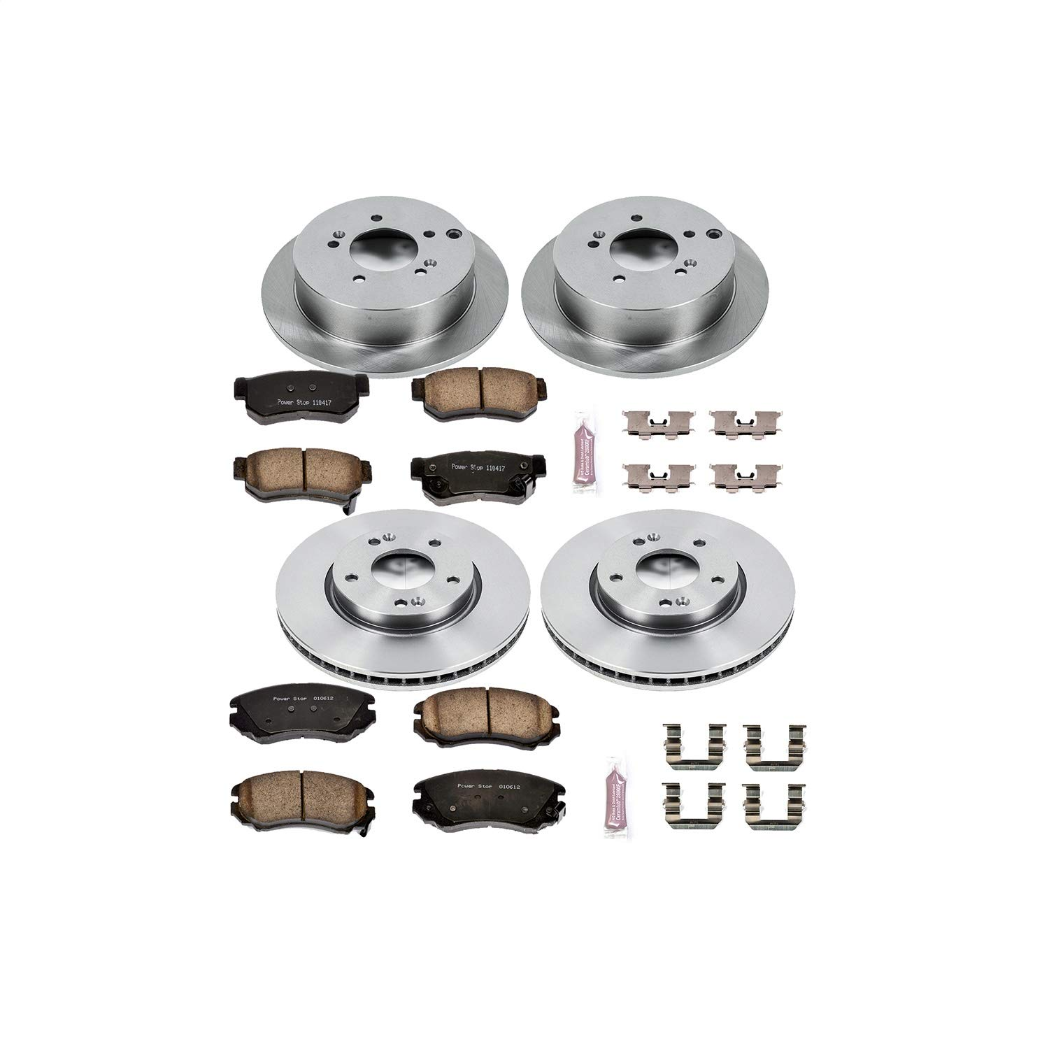 Autospecialty KOE4448 1-Click OE Replacement Brake Kit