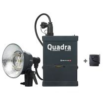 Elinchrom Quadra Living Light Kit with Lead Battery, S Head and Transmitter (EL10430.1)