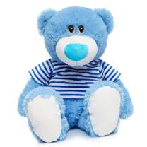 MaoGoLan 23 inch Blue Teddy Bear Stuffed Animal Plush Baby Boys 1st Teddy Bear,60CM