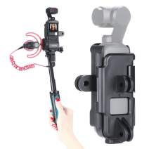 ULANZI OP-7 OSMO Pocket Action Tripod Mount w Cold Shoe Mount for Microphone 3 Gopro DJI OSMO Action Interface Vlog Case Housing for DJI OSMO Pocket Vlogging Accessories