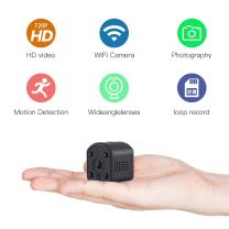 SOWELL HD Mini WiFi Camera 720P HD WiFi Security Camera for iPhone/Android Phone/iPad Baby Video Monitor Two Cameras WiFi Remote Control 2.4G WiFi for Baby Monitor