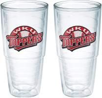 Tervis Western Kentucky Toppers Emblem Tumbler, Set of 2, 24 oz, Clear