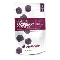 BerriHealth's 100% Authentic Black Raspberry Powder - 100 Grams