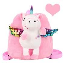 DricRoda Toddler Backpack, Cute Animal Preschool Bag for 2 3 4 Year Old Girls