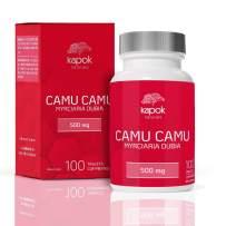 Kapok Naturals Camu Camu, 100x 500mg Wholefood Vitamin C Tablets. Use Camu Camu Powder to Boost Immunity, Liver Cleanse & Reduce Inflammation. Available as Camu Camu Capsules or Camu Camu Pills.