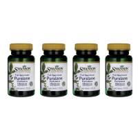 Swanson Full Spectrum Purslane 400 mg 60 Veg Caps 4 Pack
