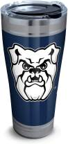 Tervis 1321449 Butler Bulldogs Campus Stainless Steel Insulated Tumbler with Clear and Black Hammer Lid, 30 oz, Silver