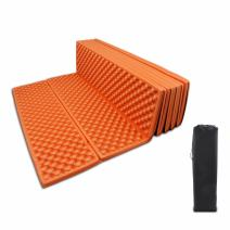 BeGrit Sleeping Pad Lightweight Folding Portable Seat Cushion Waterproof Foam Soft Moisture Mat with Carry Bag