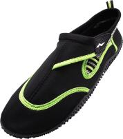 NORTY - Mens Aqua Socks Wave Water Shoes - Waterproof Slip-Ons for Pool, Beach, Lake and Sports