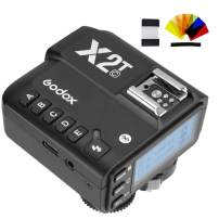 Godox X2T-C E-TTL II 2.4G HSS 1/8000s Wireless Flash Remote Trigger Transmitter Compatible for Canon EOS Camera,Bluetooth Support,Larger Display(Godox X1T Upgrade Version)