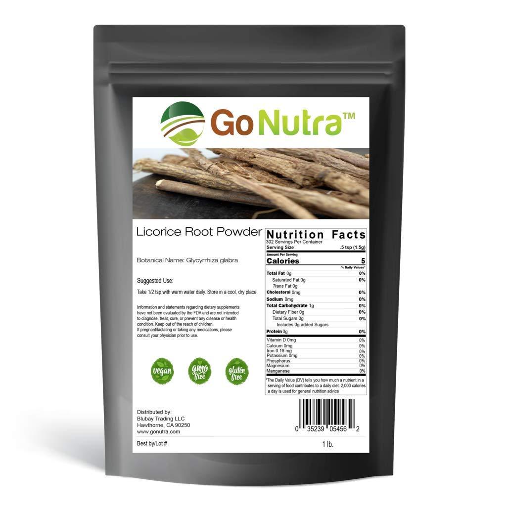 Licorice Root Powder Non-Gmo 1lb. Liquorice Glycyrrhiza Glabra