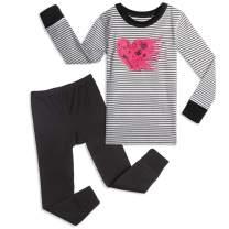 Mightly Girls Organic Cotton Footless Pajamas