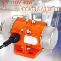 Concrete Vibrator Vibration Motor 40W AC 110V 3600rpm Aluminum Alloy Vibrating Vibrators for Shaker Table