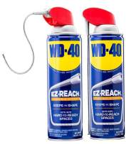 WD-40 Multi-Use Product - Multi-Purpose Lubricant with EZ-Reach Flexible Straw. 14.4 oz. - Twin Pack