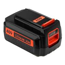 40 Volt MAX 3.0Ah LBX2040 Battery Replacement for Black and Decker 40V Battery Lithium-ion LBXR36 LBXR2036 LST540 LCS1240 LBX1540 LST136W