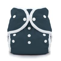 Thirsties Duo Wrap Cloth Diaper Cover, Snap Closure, Midnight Blue Size Two (18-40 lbs)