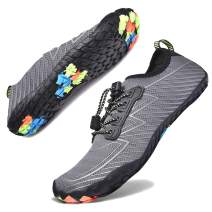 Hotaden Water Shoes for Men Women Quick Dry Barefoot Aqua Socks Lightweight Swimming Shoes for Beach