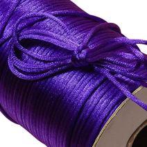 Purple Rat Tail Cord 2mm X 200 Yards