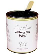 Poets Paint Waterglass Paint Chalk Finish Blackbird 32 oz