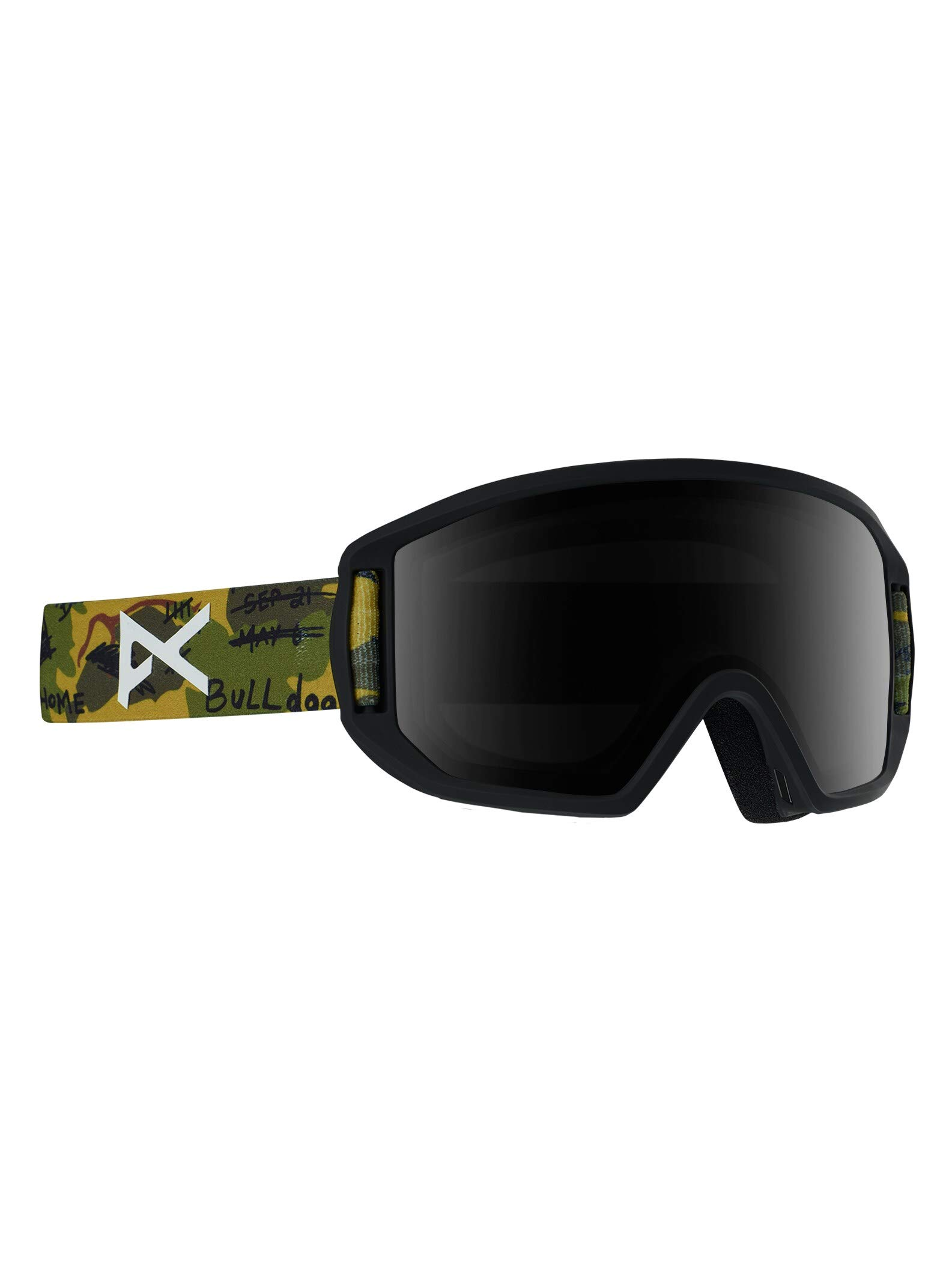 Anon Kids' Relapse Jr. Snowboard/Ski Goggle with MFI Mask (Available in Asian Fit)