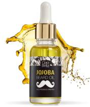 Pure Jojoba Organic Beard Oil I Beard Oil for Men I Stop Itch I No More Beard Dandruff I Mustache Oil I Mens Beard Oil Unscented I Soften Coarse Hair I Doesn't Clog Pores I 1 fl oz