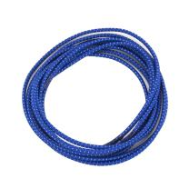 "Elastic Shoelaces - Ideal for Men, Women and Children (39"" with Fastening System, Blue w/White Stripe)"