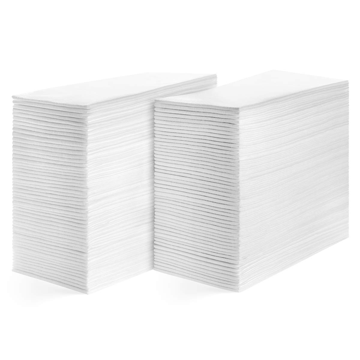 American Homestead Linen Feel Guest Towels Disposable Cloth Like Paper Hand Napkins Soft, Absorbent, Paper Hand Towels for Kitchen, Bathroom, Weddings and Events (Pack of 200 Smooth, Elegantly Smooth)