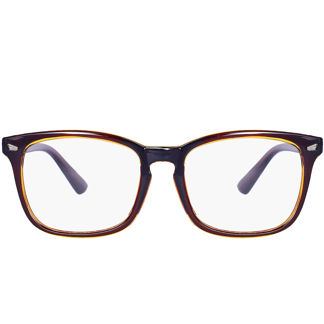 Maxjuli Blue Light Blocking Glasses,Computer Reading/Gaming/TV/Phones Glasses for Women Men 6001