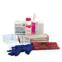 First Aid Only 00702 59 Piece Bloodborne Spill Clean-up Refill Kit, For Large Industrial BBP Cabinet